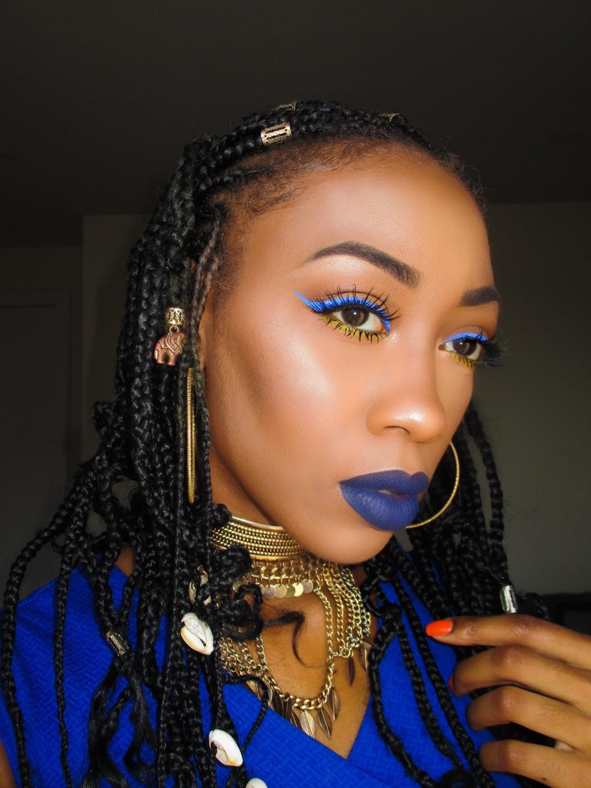 Feeling the Blues MakeupTutorial
